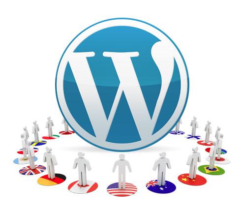 Wordpress multilanguage icon