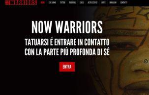 Now Warriors website