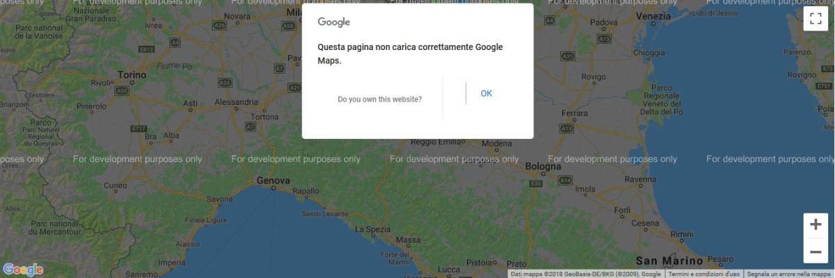 Le mappe di Google sono sparite dai vostri siti? Continuiamo ad utilizzarle anche dopo il 16 luglio 2018